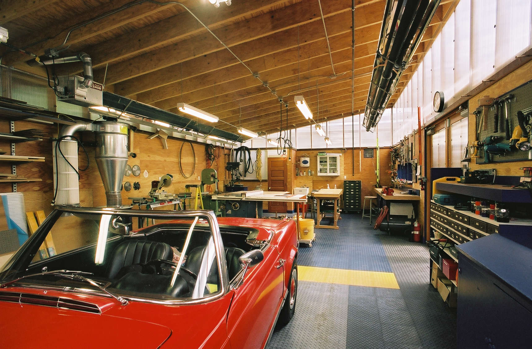 Architect Visit Harrison Architects Green Garage