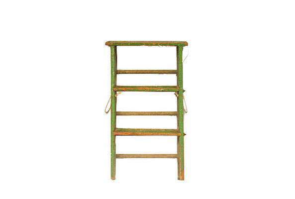 Groovy Etsy Storage Wooden Ladders Vintage Paint Splatters Pdpeps Interior Chair Design Pdpepsorg