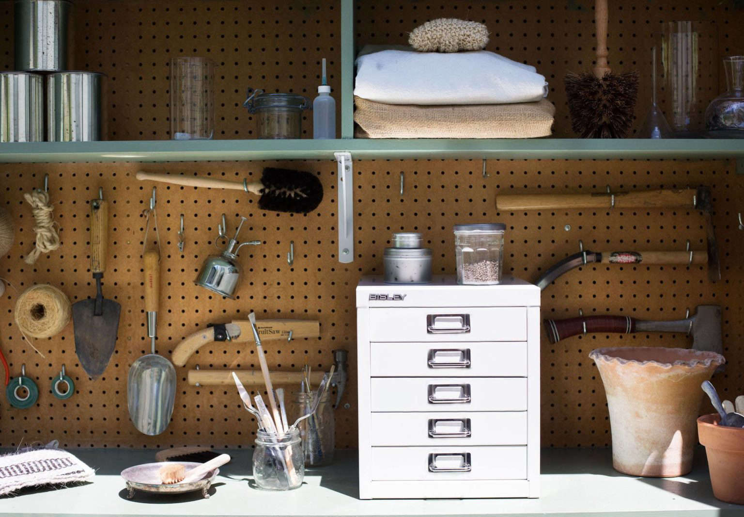 Diy Project Repurpose A File Cabinet For Tool Storage