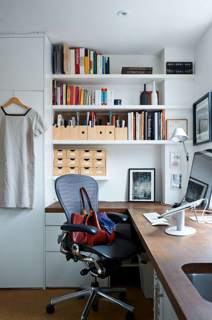 Unexpected Storage In A London Home Office The Organized Home