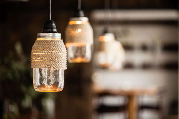Diy Project Rope Wrapped Mason Jar Lights The Organized Home