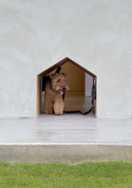 But Having A Built In Dog Door Is A Great Boon For Both Dog And Owner. Have  A Look At Amanda Pays And Corbin Bernsensu0027 Dog Door Tucked Into A Corner Of  ...