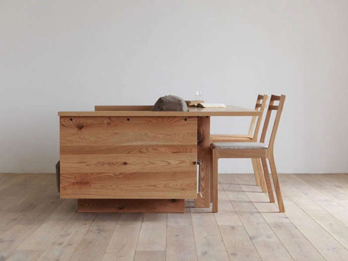 Multipurpose Live/Work Furniture from Japan, Ideal for Small Spaces ...