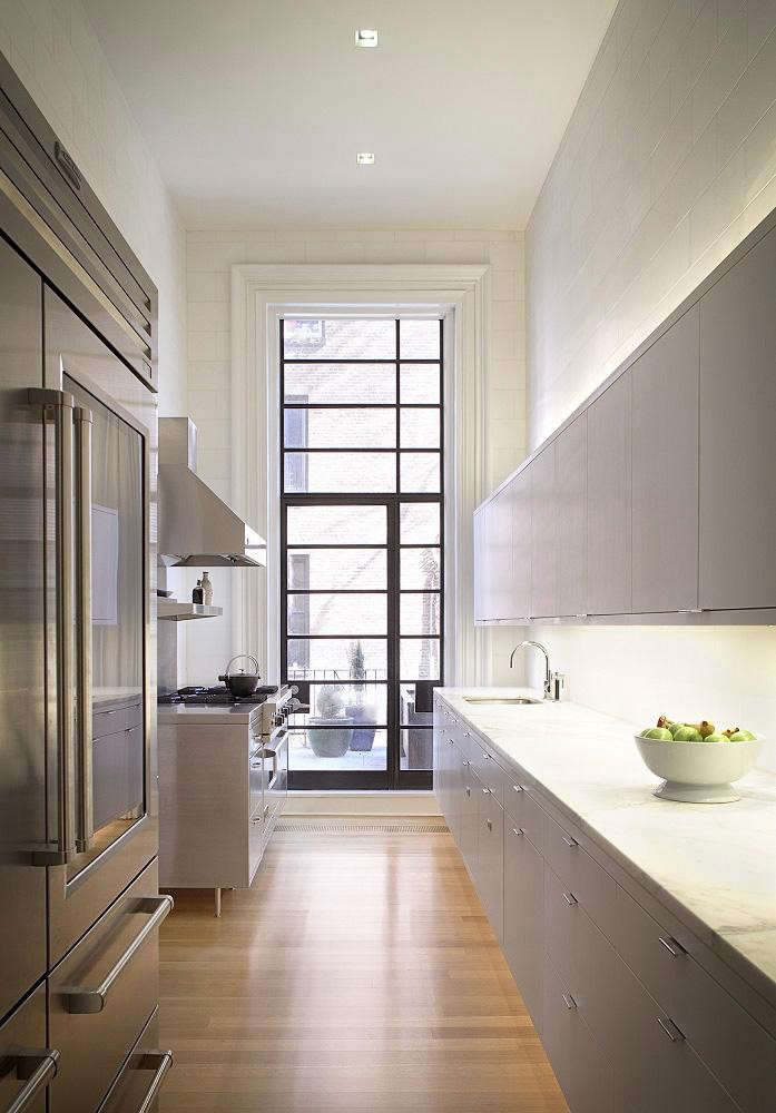 10 Favorites: The Urban Galley Kitchen - The Organized Home on galley kitchens before and after, galley kitchens with white cabinets, galley style kitchen,