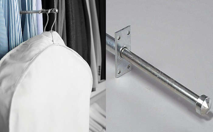 5 Quick Fixes: Closet Valet Rods And Hooks