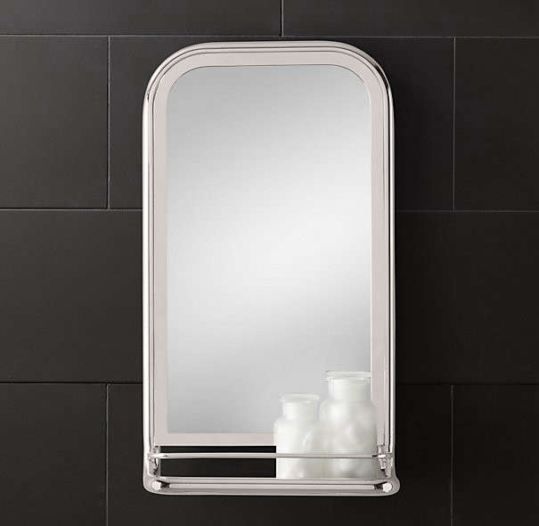 Enjoyable Design Sleuth 5 Bathroom Mirrors With Shelves The Interior Design Ideas Ghosoteloinfo