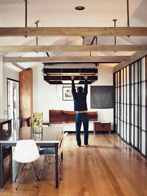 5 Space Saving Retractable Loft Beds The Organized Home