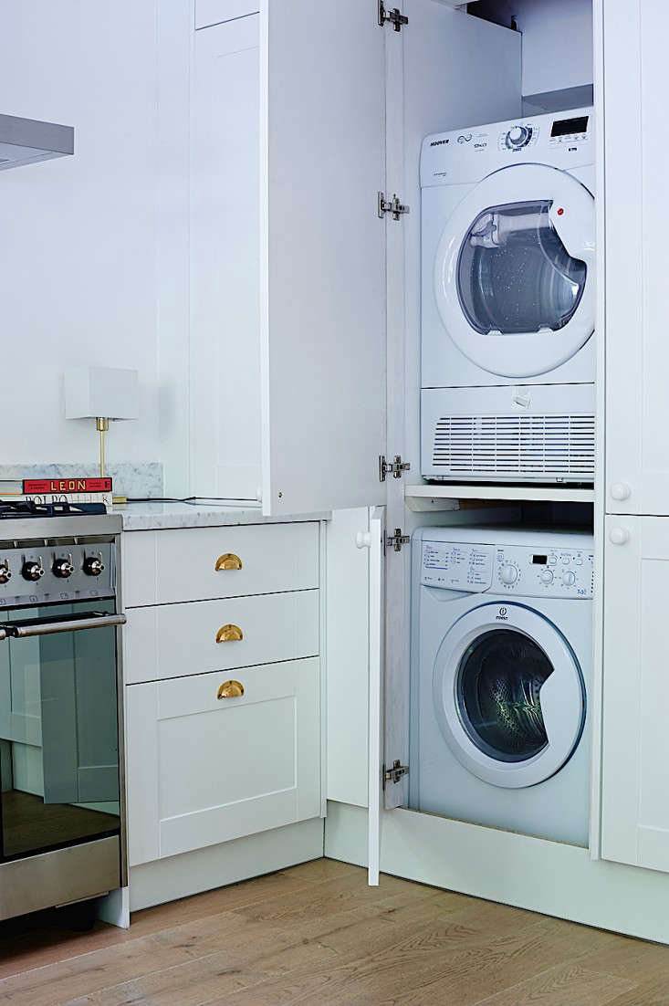 Washer Dryer Into The Kitchen