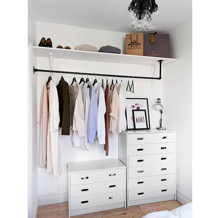 Perfect Steal This Look: A Well Organized Closet On A Budget