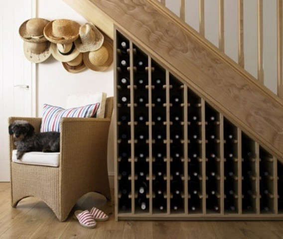 6 under the stairs wine cellars the organized home diy garage wine cellar above for a similar sourcing idea consider the custom waterfall cascade wood wine ... & Diy Garage Wine Cellar - Diy Basement Bar Ideas Home Bar ...