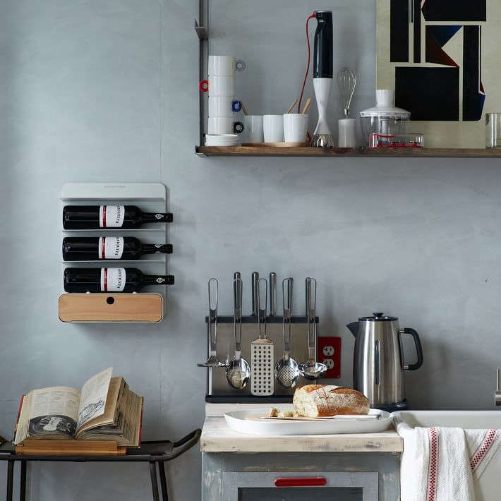 Browse Wall Mounted Wine Racks On The Organized Home