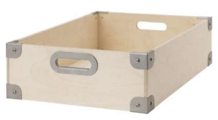 Ikea Snack storage: more wooden boxes - the organized home