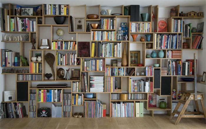 diy: bookshelf systems, one easy, one difficult - the