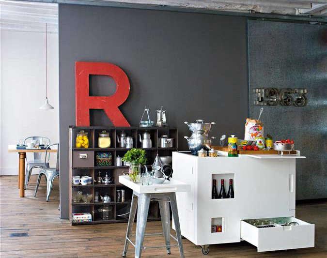 Radical Downsizing: High/Low Mini Kitchens