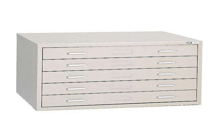 Above At a loss for where to store childrenu0027s artwork your poster collection or other large flat papers? Mayline Steel Five Drawer Flat File Cabinet ...  sc 1 st  The Organized Home & 5 Favorites: Stainless Steel Office Drawers - The Organized Home