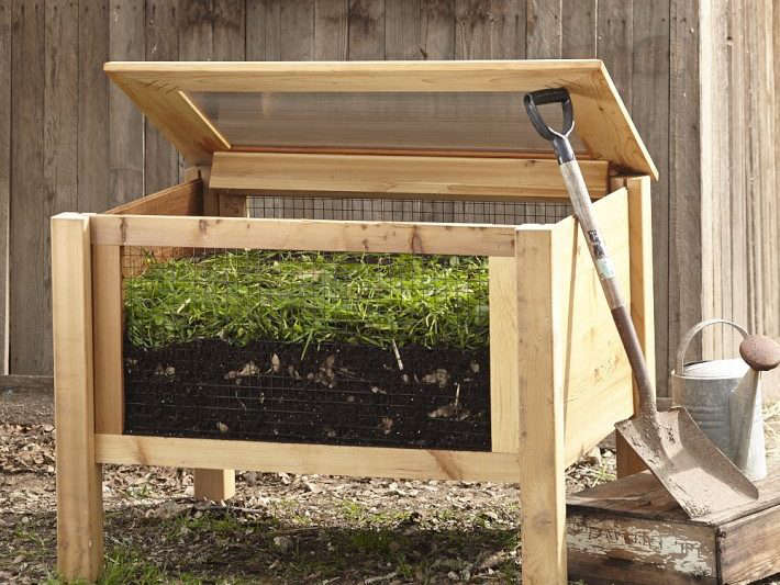 10 Easy Pieces Wood Compost Bins The Organized Home
