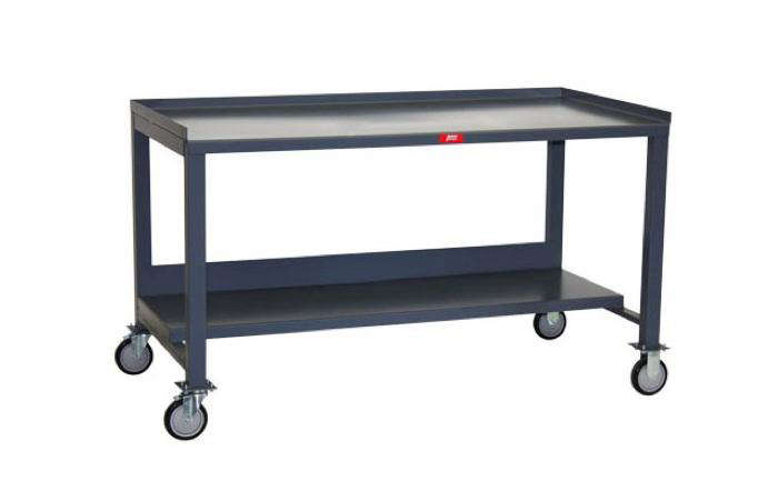 Consider Using A Heavy Duty Powder Coated Steel Mobile Work Bench As Potting Station It Has Tray Top And Lower Shelf Measures 30 By 60 Inches
