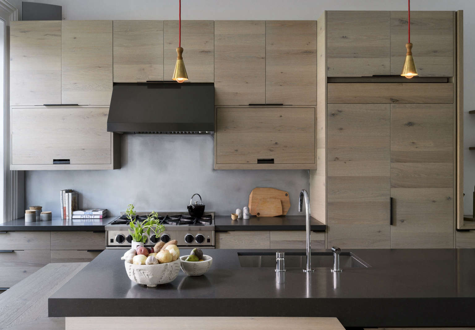 Brooklyn Kitchen With Custom Wood Cabinet, Design By Workstead, Photograph  By Matthew Williams |