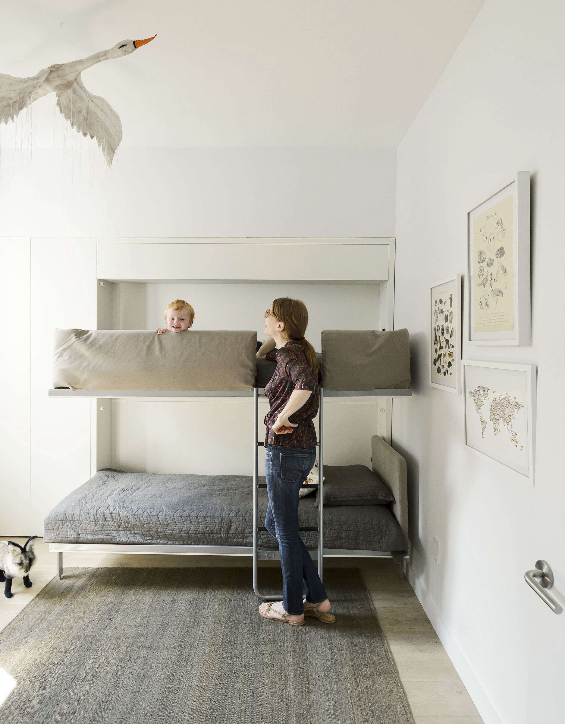 Picture of: Archive Dive Our 13 Favorite Built In Bunk Beds The Organized Home