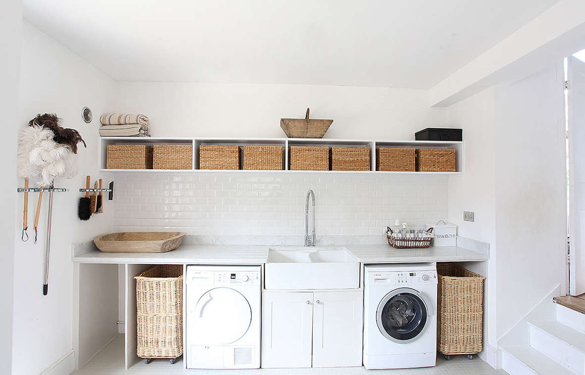 10 Favorite Laundry Rooms With Storage Ideas To Steal