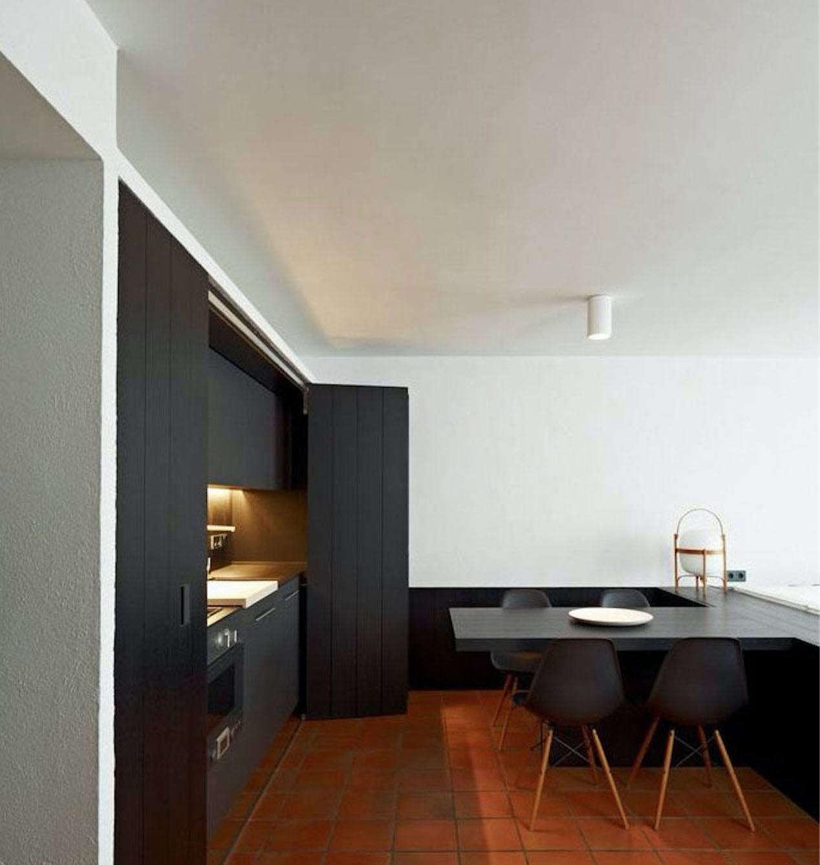 Hidden Kitchen Design. Rife Studio Hidden Kitchen in Cadaques Spain Disappearing Act  14 Minimalist Kitchens The Organized Home