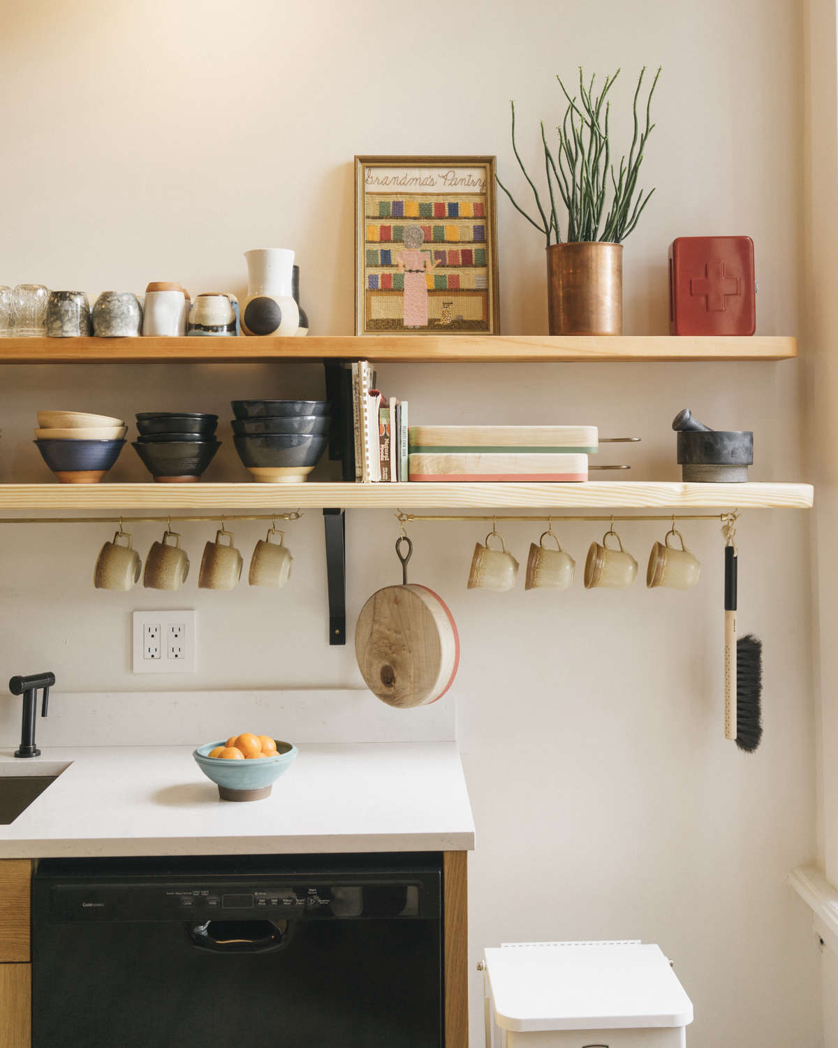 6 Wall-Mounted Storage Ideas to Steal from the Jennings Hotel