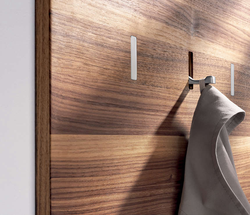 HighLow SpaceSaving Retractable Wall Hooks The Organized Home New Coat Rack With Storage Space