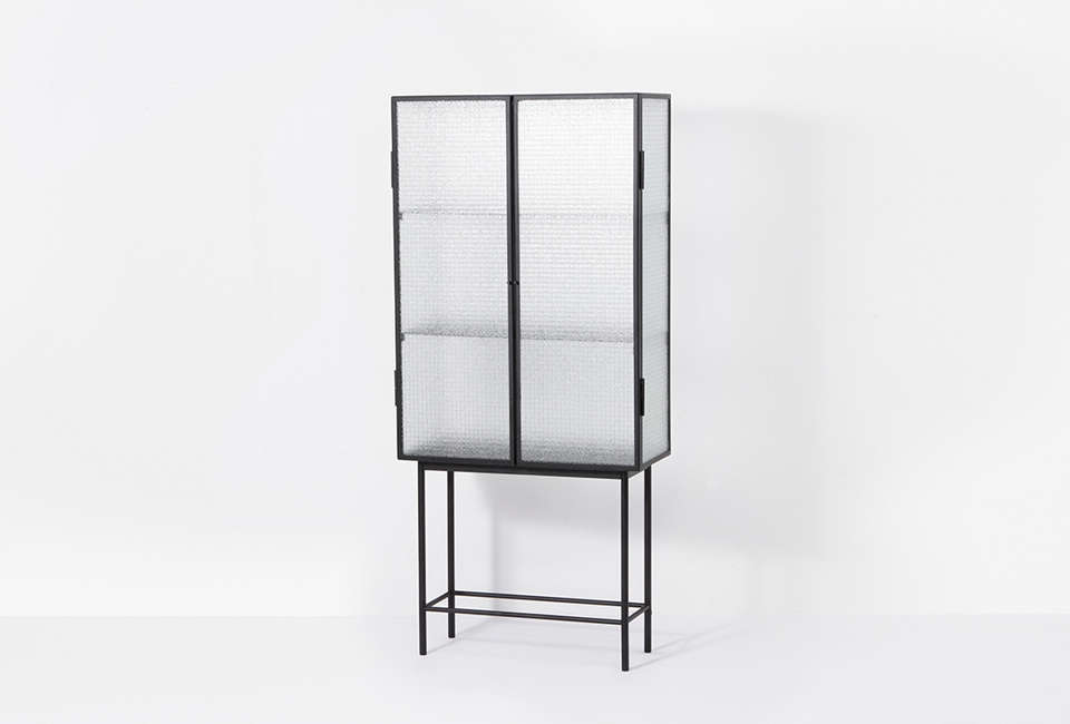 10 easy pieces steel framed display cabinets the organized home rh organized home com Costco Metal and Glass Cabinet metal and glass upper cabinets