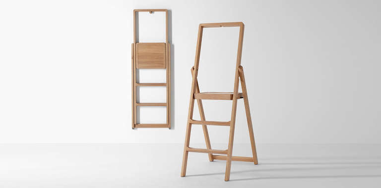 Groovy 10 Easy Pieces Slim Step Ladders For Small Spaces The Beatyapartments Chair Design Images Beatyapartmentscom