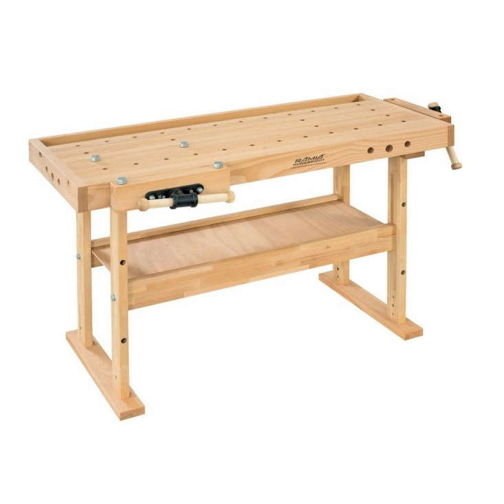 10 Easy Pieces: Wooden Workbenches - The Organized Home