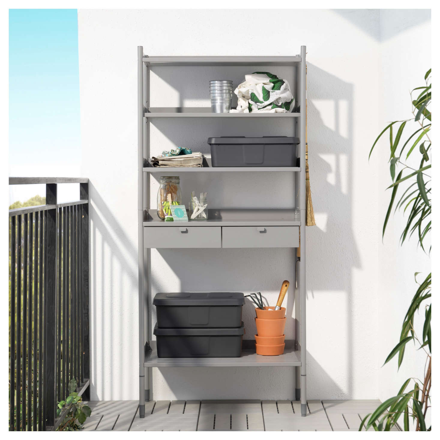 Best Of Ikea 2017 Potting Shed And Garden Storage The Organized Home