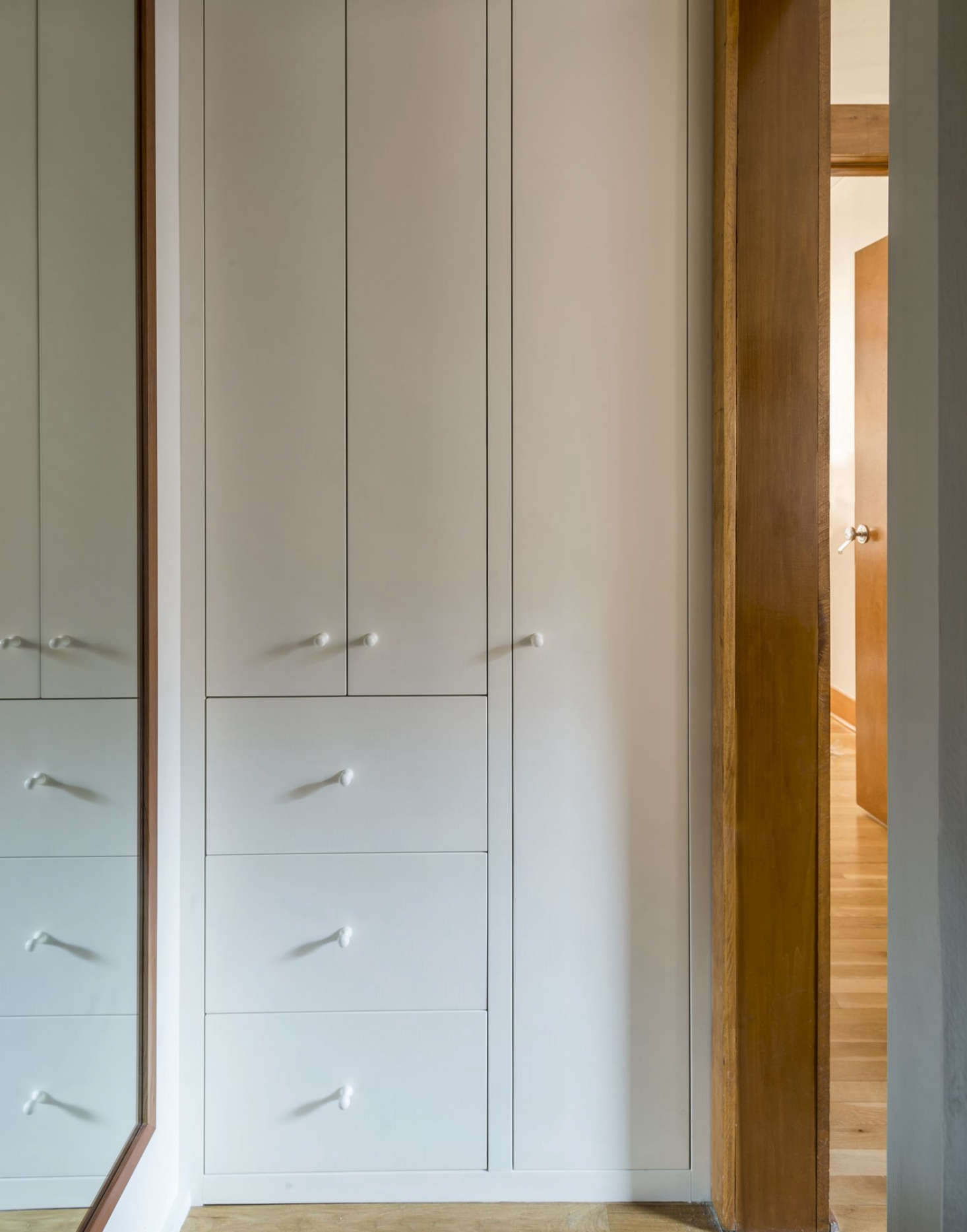 Workstead Design Bathroom Built In Storage Cabinet, Mathew Williams Photo