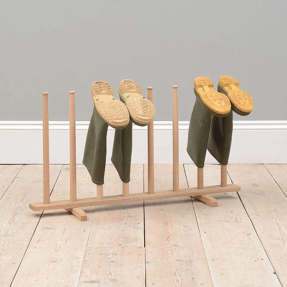 10 Easy Pieces: Wooden Boot Racks