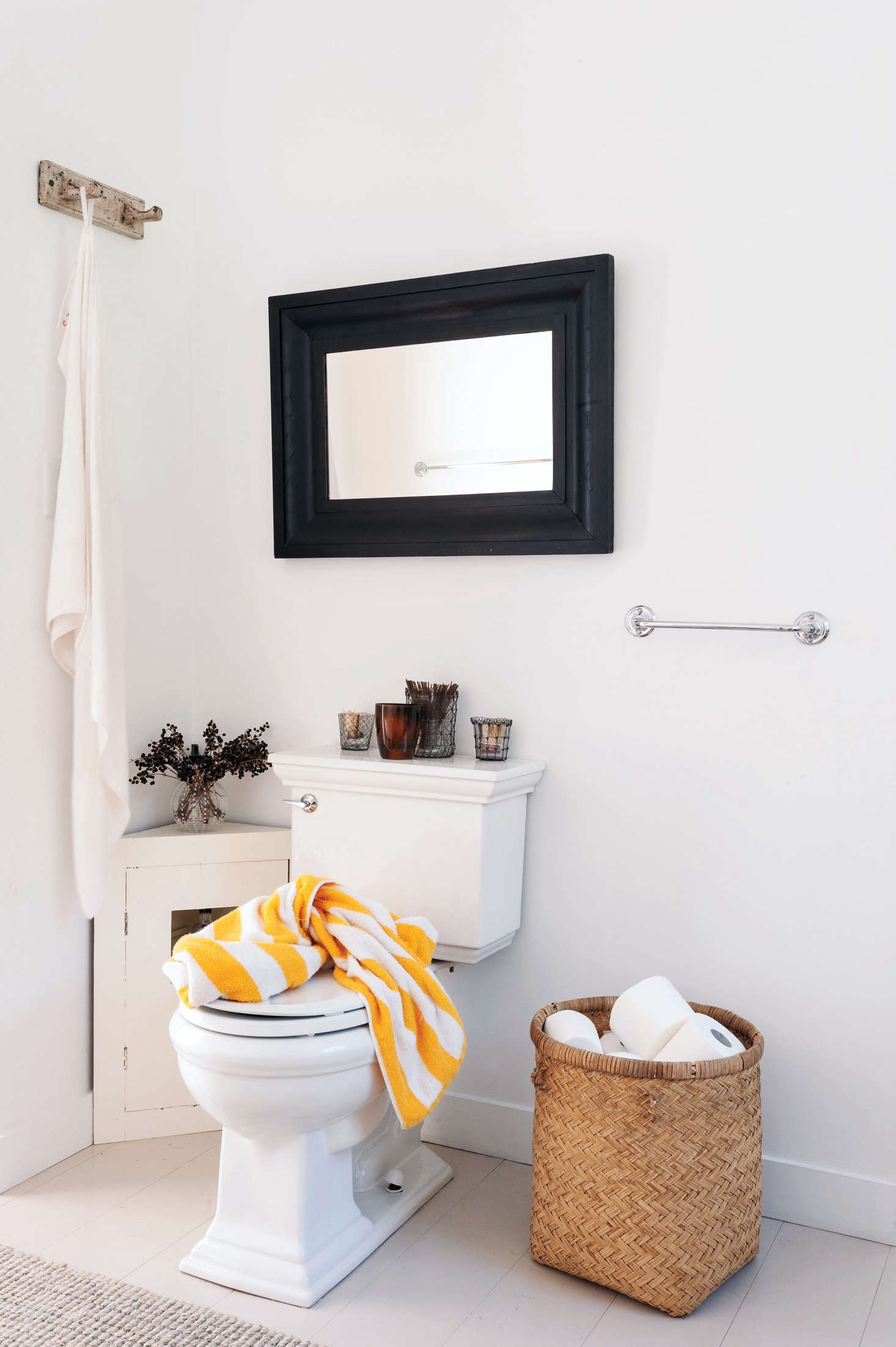 12 Creative (and Easy) DIY Toilet Paper Holders - The Organized Home