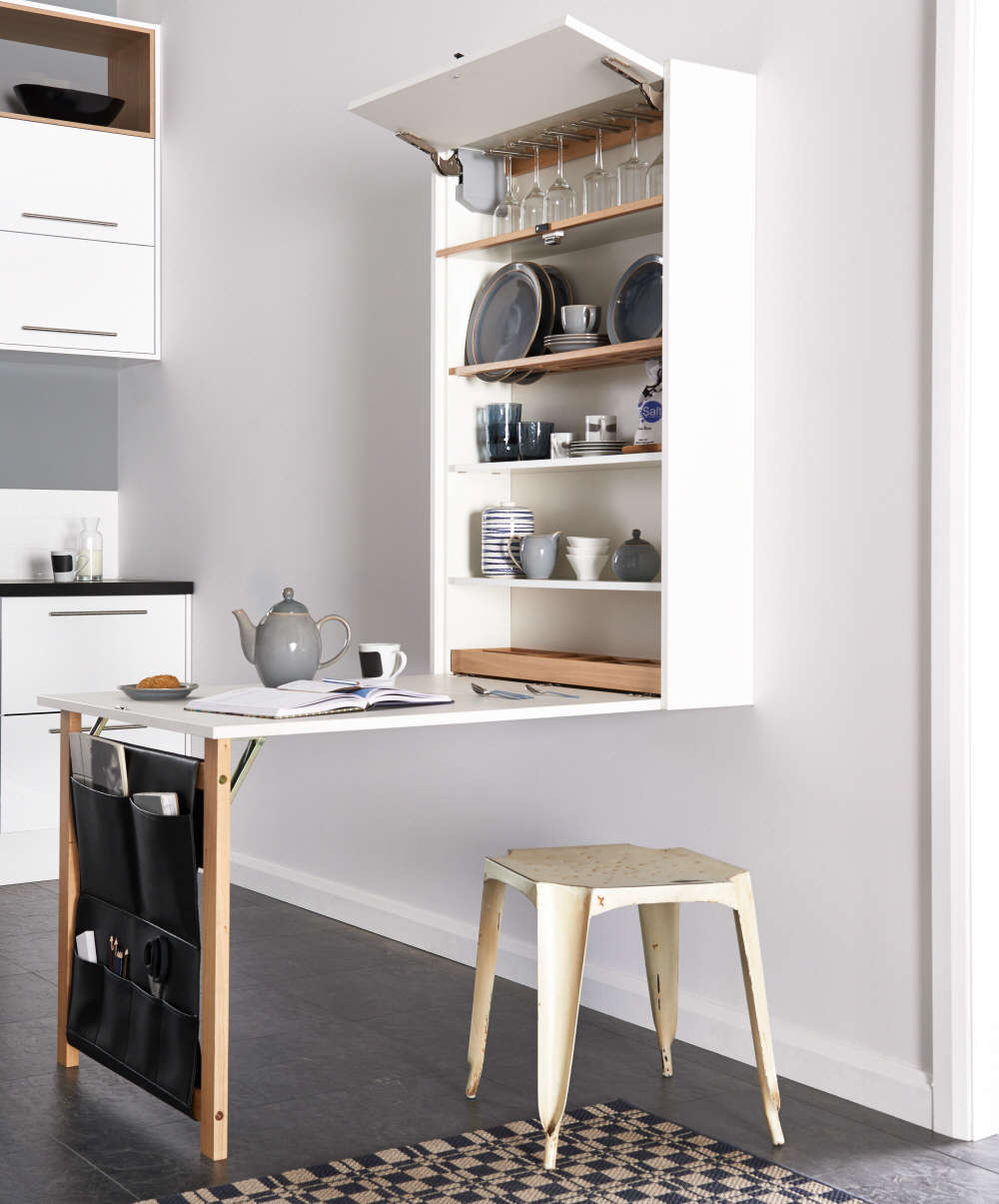 Disappearing Act 14 Minimalist Hidden Kitchens The