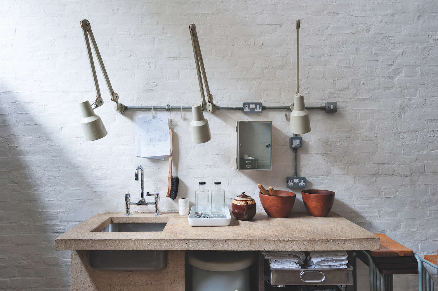 Alastair Hendy's London Kitchen with Clever Storage Solutions