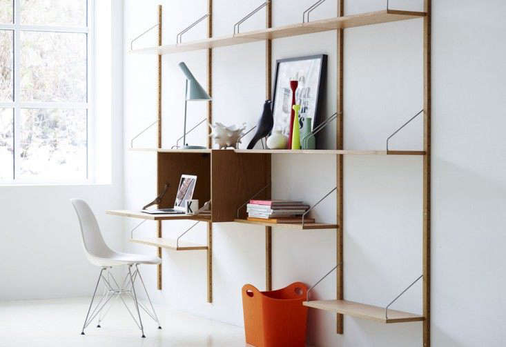 The Royal System Shelving Unit C Is Available In Solid Walnut And Soaped Oak 5 985