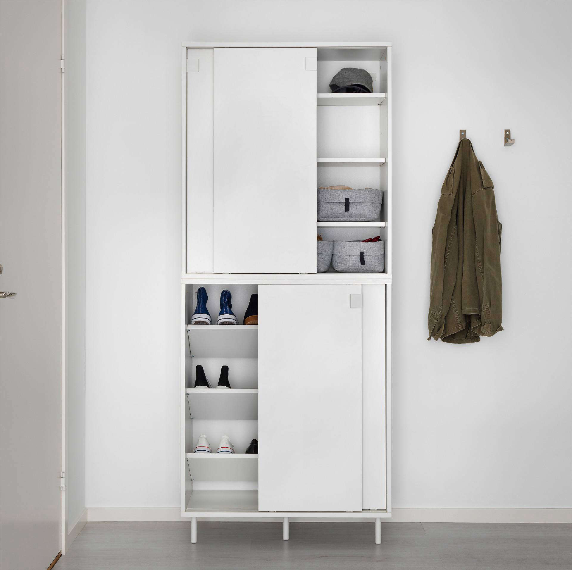 Ikea Entryway Storage Solutions For Minimalists On A Budget The Organized Home