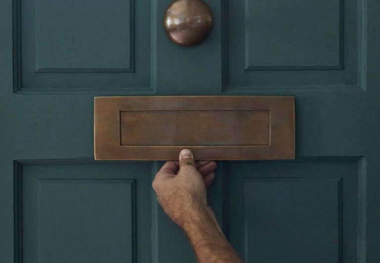 letterbox door plate hardware rowen and wren & Curb Appeal: Classic Hardware for the Well-Dressed Front Door - The ...