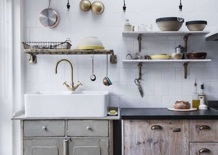 Drip Dry 13 Kitchens With Wall Mounted Dish Racks The Organized Home