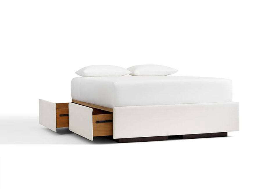 Pottery Barn Upholstered Storage Platform Bed  sc 1 st  The Organized Home & 10 Easy Pieces: Storage Beds - The Organized Home