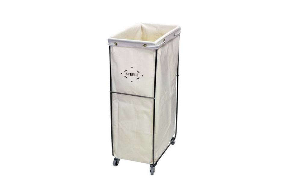 Beyond bed bath beyond 18 dorm room essentials for the back to school set the organized home - Narrow clothes hamper ...