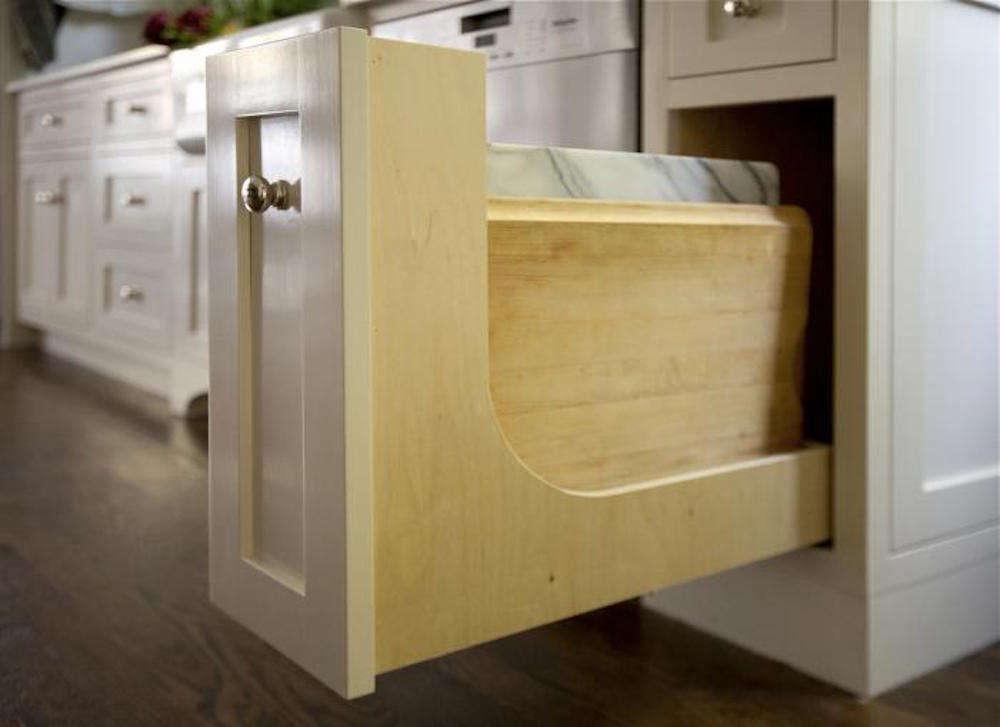 Kitchen Storage Cutting Board Cabinet
