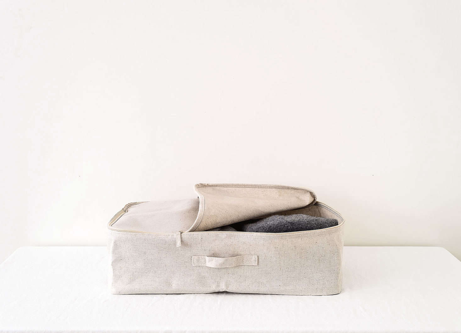 Zippered Canvas Storage Bag As Part Of The Remodelista 75 Series