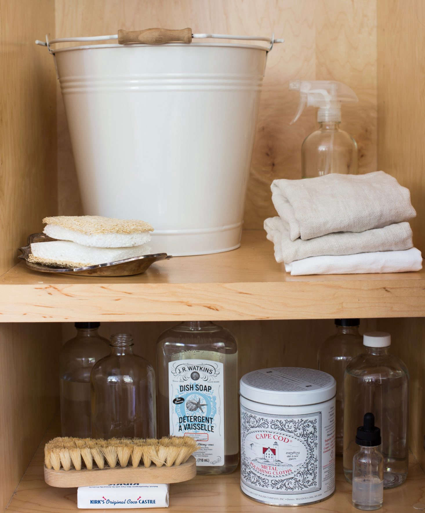 Utility Closet Storage Organization Shelves By Mimi Giboin