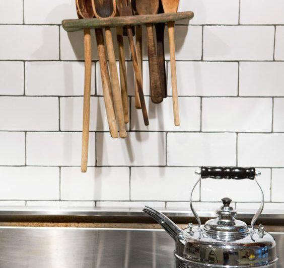 Design Sleuth: Wall-Mounted Wooden Spoon Holder - The ...