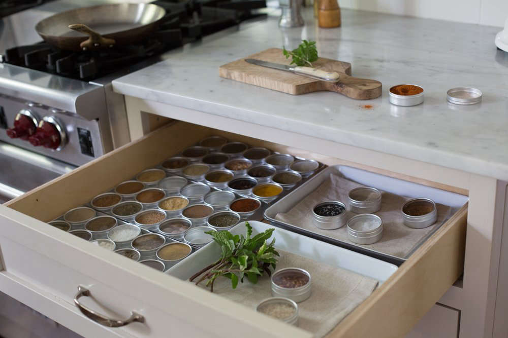 What's Inside: A Surprising Spice Drawer Solution