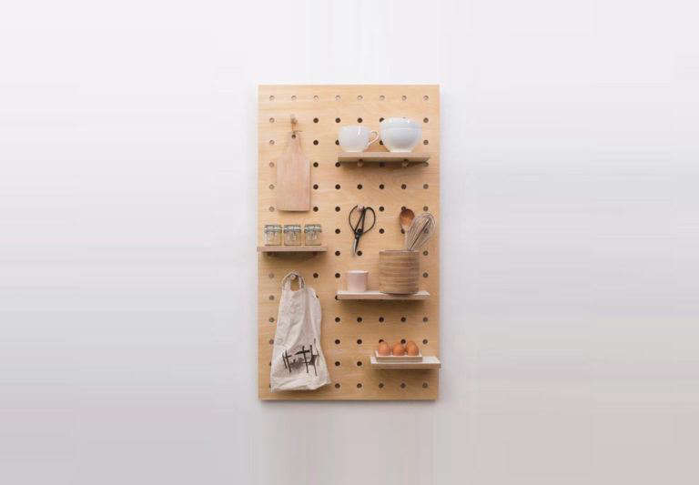 a889dbfbb45 7 Favorites  Modular Wooden Pegboard Organizers. General Storage  Organization · Pegboards · Storage Solutions · Wall Storage · Wood.  Peg-It-All Pegboard ...