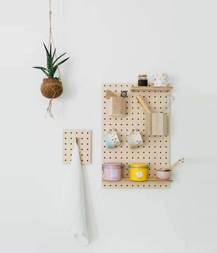 e10495b14a2 7 Favorites  Modular Wooden Pegboard Organizers - The Organized Home