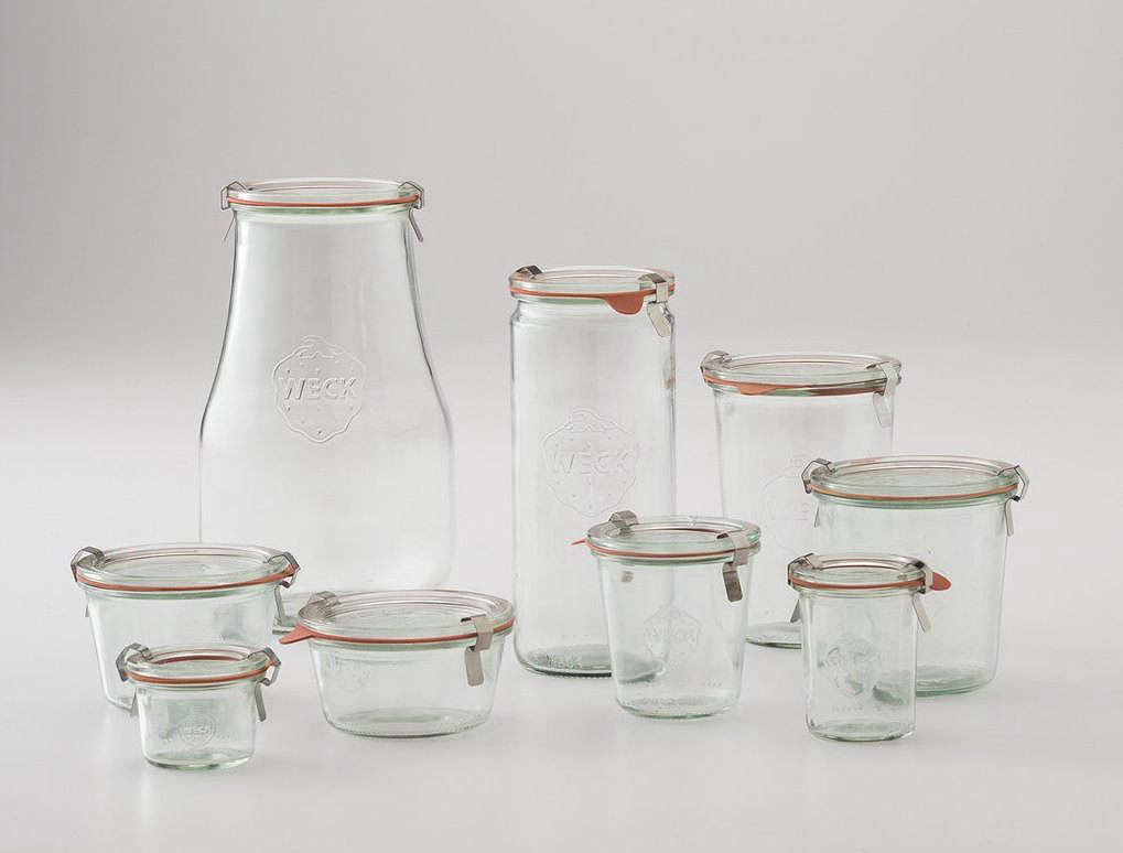 Weck Storage Jars From Schoolhouse Electric Start At $3 For The Smallest  Size And Go Up